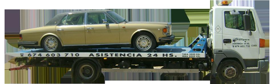 Transporte de vehículos de lujo a toda España