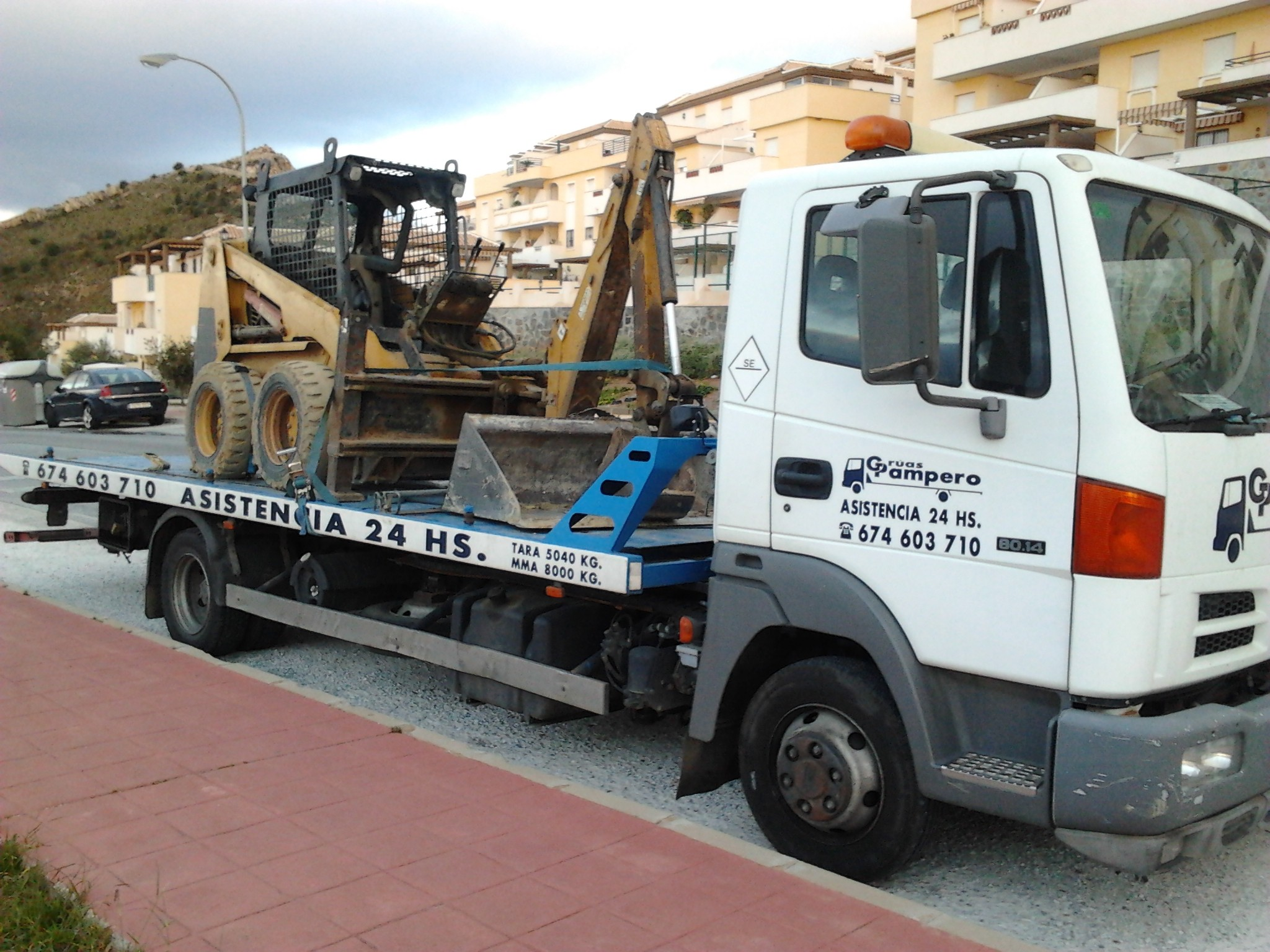 Grúas de coches en Málaga